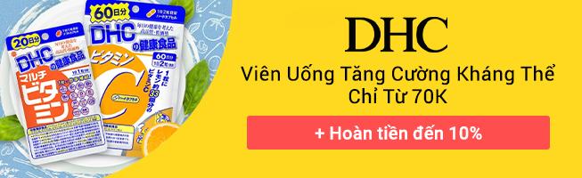 DHC khuyến mại , hoàn tiền 10%