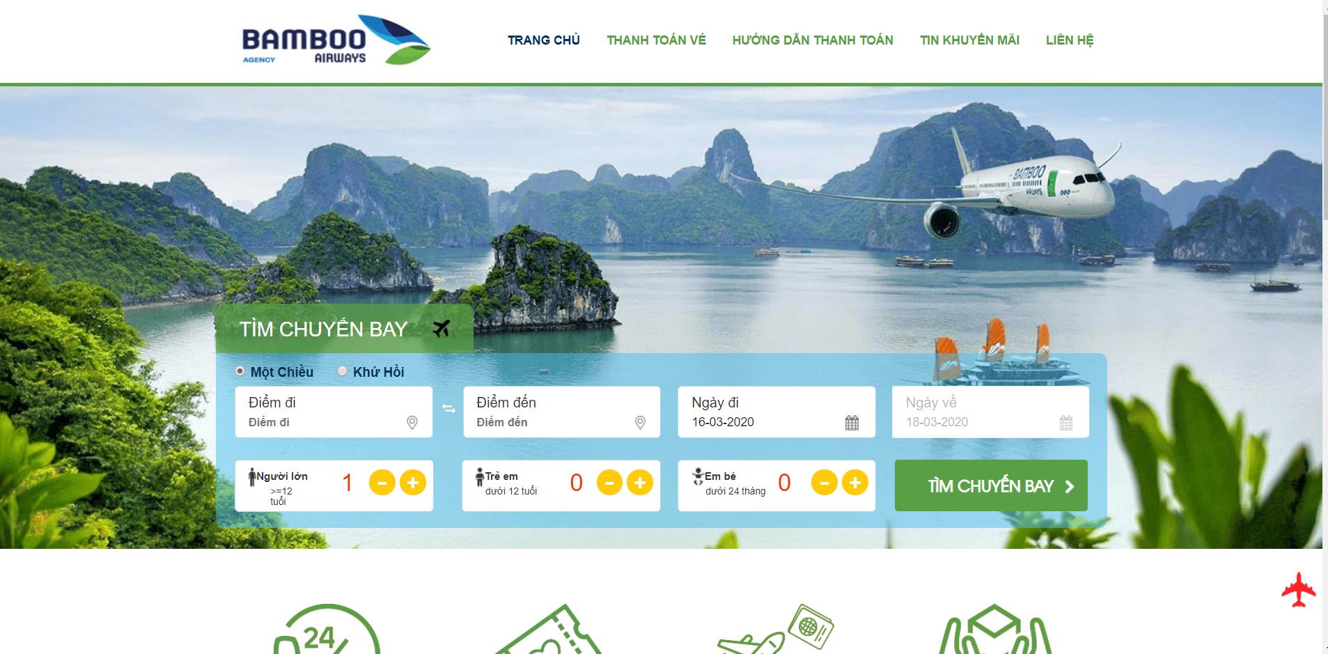 Trang Chủ Bamboo Airways